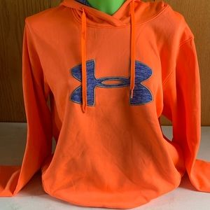 Orange XL Under Armour hoodie